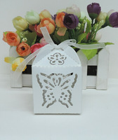 Hollow out candy box,butterfly laser cut candy box,chocolate box.gift box (5*5*7.5H cm