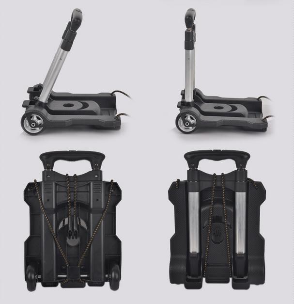 Free shipping Portable folding trolley/mini hand carts /Custom carts/ trolleys/ hand truck(China (Mainland))