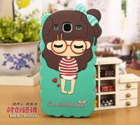 Cartoon Design Phone Case Cover Mega 5.8 i9150/i9152/i9158 or P709 Silicon Case Phone Cover for Samsung Galaxy Mega 5.8