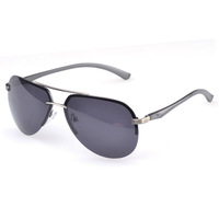 2014 sale freeshipping adult black men polarized sunglasses men's new aluminum-magnesium alloy a143 classic fashion yurt