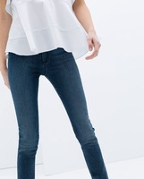 2014 New spring and summer women's casual pants feet pencil thin Slim denim jeans trousers #4097