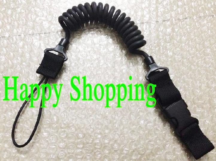Elasticity pistol lanyard sling safe carrying