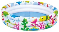 ILONG 36''x10''(91x 25cm) Inflatable kids swimming pool 3 ring pool Summer Toys