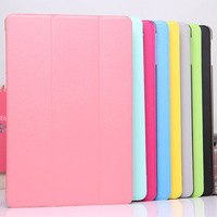 For ipad5 Ultra Thin Full Protected Magnetic Smart Stand Front Leather Cover Hard Back Case for apple ipad Air 5 th with Retina