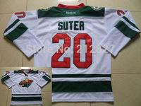 Wholesale NHL jerseys Minnesota Wild #20 Ryan Suter White Stitched  Jerseys