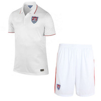 USA World Cup 2014 soccer jersey short-sleeved clothes soccer clothes sportswear suit. Free shipping.
