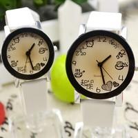 Free ship, Men& Women Girl & Boy  Couple Spice Interest Fashion Quartz Lovers' Watch beautiful Couple watches Wristwatch