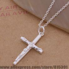 AN114 925 sterling silver Necklace 925 silver fashion jewelry pendant crucifix /dqzamiga eqdanhka