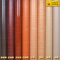 Waterproof furniture wallcovering wood grain wallpapers furniture film wardrobe door stickers wall paper