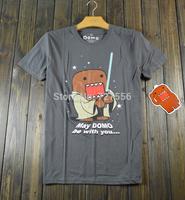Free Shipping star wars T-Shirt  men T-Shirt brand t-shirt star wars domo t-shirt The original authorization