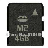Wholesale M2 memory card 4GB full capacity MOQ 1pc Free shipping
