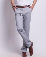 free shipping high quality men's pants , 2014 new casual men summer pants , coolling men's summer dress 50