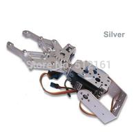 2DOF Metal Robot Arm Clamp Claw Mount Frame kit Set Aluminium Alloy for Arduino