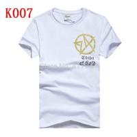 free shipping! Hot sale brand tees 24karats t-shirt cotton men short sleeve t-shirt casual Men o neck t-shirt Tops Tees