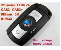 Remote Key 3 Button for BM-W BM 3/5 Series X1 X6 Z4 868MHZ With ID7944 Chip 10PCS