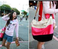 New arrived Wholesale 2014 summer beach canvas shoulder bags,  women shoulder bag fashion women bags ladies bag SH22