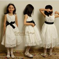 retail 2014 new arrival summer children clothing girls dress Big Children's dress princess dress lace dresses H775