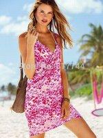 free shipping ! New 2014 VS Summer Women Clothing one average size surfing skirt Sandy beach Dresses Sleeveless VS Dress