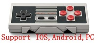Free shipping 2014 NEW 8BITDO NES30 wireless Bluetooth Controller Support IOS Android Mac OS PC Gamepad High Quality With Xstand
