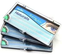 Charming lash blue boxes 3 size  D-lash naturals  permanent eyelashes natural silk eyelashes individual curling eyelashes