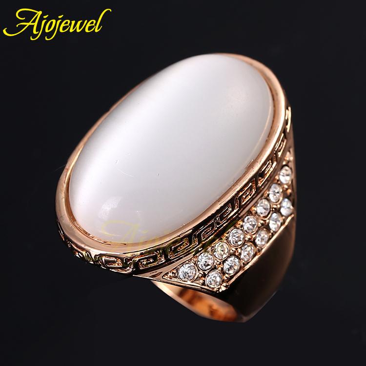 Size 7 8 Fashion Zinc Alloy Jewelry Brand New 18K Rose Gold Plated