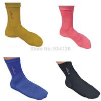 2014 brand new 2.5mm Lycra swimming beach quiak drying socks prevent scratches snorkeling socks 05