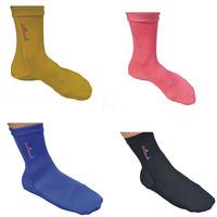 2014 brand new 2.5mm Lycra swimming beach quiak drying socks prevent scratches snorkeling socks 05