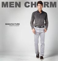 free shipping men summer pants , men's straight zipper fly pant men , 2014 korean style men's full pants 39