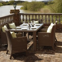 NEW!6 Seater rattan dining Garden Furniture Set