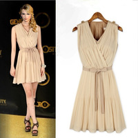 Brand new women summer dresses 2014 fashion women sexy party dress beach dress free shipping