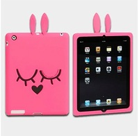 Best Selling Mj protective case for new ipad cover marc zoo silica gel soft Case For ipad2 3 4 With retail package Free Shipping