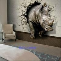 3D  Embossed  Modern Mural wall paper papel de parede sofa tv photos  of wall Non-woven waterproof wallpaper