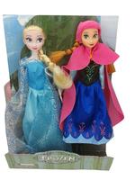 "2014 New Fashion 2pcs Frozen Princess Elsa & Anna Dolls/Brand Set Playset 12"" Dolls Toys/Cute Kids Gift"
