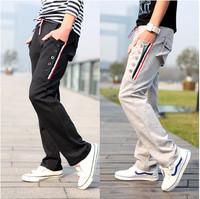 free shipping men's full length pants , 2014 mens sweat pants , colling men's sport pants 45