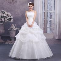 Free shipping 2014 version of the classic shell Slim Bra straps bridal wedding dress