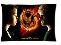 Custom The Hunger Games Pillowcase Standard Size 20x30 Cotton Pillow Case