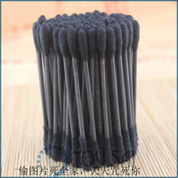 Advanced bamboo charcoal adsorption disinfection sterile spiral paper shaft swab 100pcs/box  100pcs/package