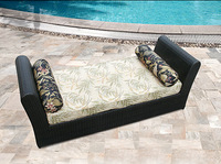 Outdoor Wicker Patio outdoor rattan Furniture Chaise Lounger