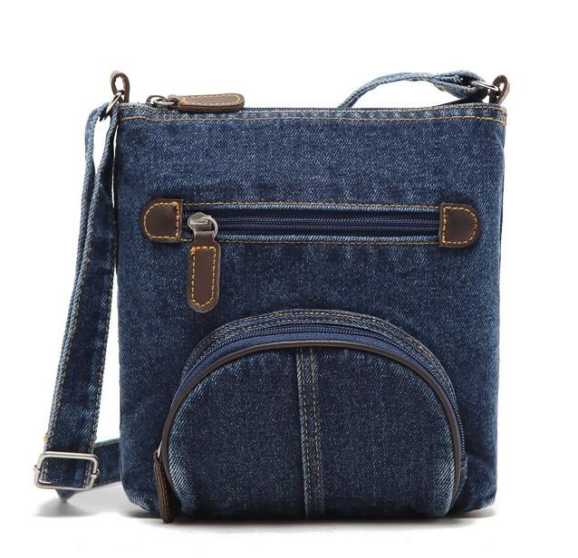 BW14051301 NEW 2014 Fashion women vintage Messenger Bags lady's cross body jean bags fashion brand shoulder bag free shipping(China (Mainland))