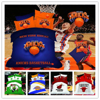 Hot Sports ! Teen/Boys basketball pattern cotton comforter bedding