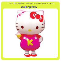 Walking pet ballloon walking animal balloon mix designs 2014 latest styles--hello kitty