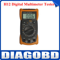 Professional H12 With Non contact Voltage Detection Digital Multimeter Tester with High Quality by Free Shipping