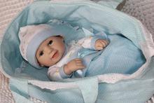 "12"" cheia de silício vinil bonecas reborn mini garoto sorrindo presente(China (Mainland))"