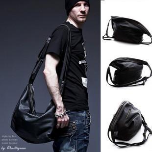 Top sale man Casual bag leather handbags man messenger bags travel bag Free Shipping(China (Mainland))