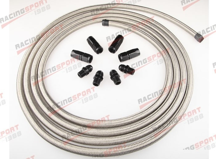 Stainless Racing Performance Automatic Transmission Cooler Line Kit BSH-66442(China (Mainland))