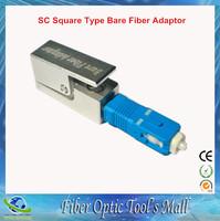 Free Shipping Fiber Optic Adapter Square Type Bare Fiber Adapter SC