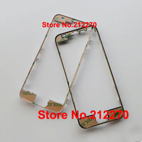 300pcs/lot New Front Middle Frame Bezel For With Adhesive Replacement Parts iPhone 5G Black/White Wholesale Free DHL EMS