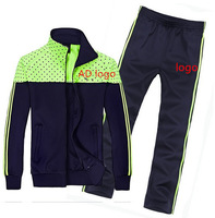 (Asian size)FREE SHIPPING,famous sports brand with logo men sportswear clothing set hoodie+pant for male 4188