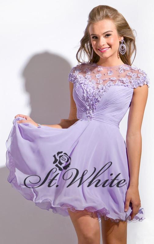 6 Grade Juniors Short Formal Dresses