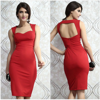 New 2014 EuropeStyle fashion sexy hollow out high waist women bodycon dresses aristocratic ladies party dress